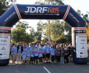 The Start of the JDRF Walk